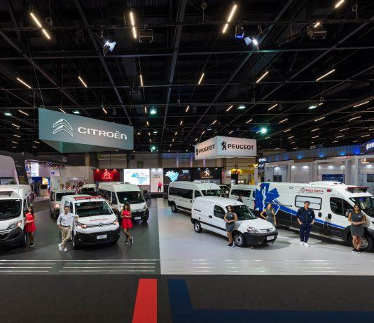 Peugeot e Citroën lançam carros na Fenatran