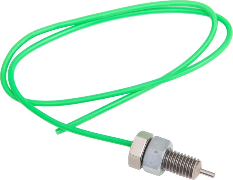 Fio em cor verde com ponta de acoplamento